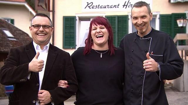 Video «Cordon bleu Spezial – Tag 4 – Restaurant Hirschen, Günsberg» abspielen