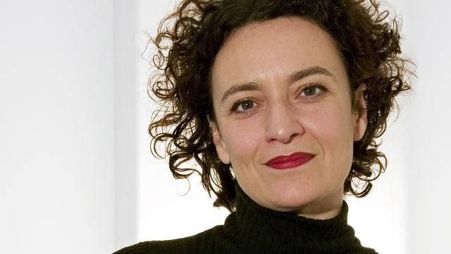 Porträtaufnahme von Mariacarla Gadebusch Bondio.