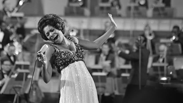 Wilson bei einem Auftritt 1968.