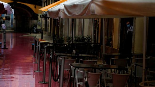 Leeres Restaurant.