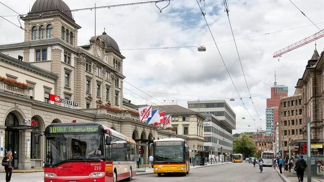 Friedlicher, aber noch keine heile Welt: Der Winterthurer Hauptbahnhof