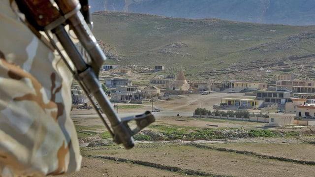 Die Stadt Sindschar im Norden Iraks.
