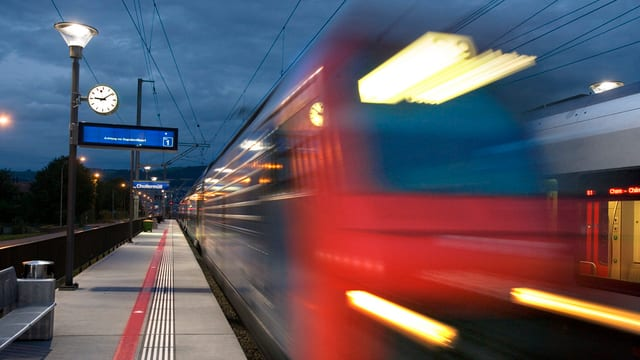 Die SBB plant langfristig den Ausbau des Schienennetzes im Raum Zug-Baar.