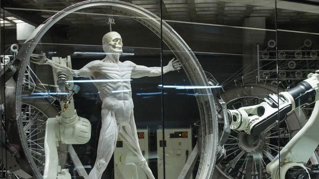 «Westworld» wird vom amerikanischen Netzwerk HBO produziert und lief in der Schweiz bei RTS.