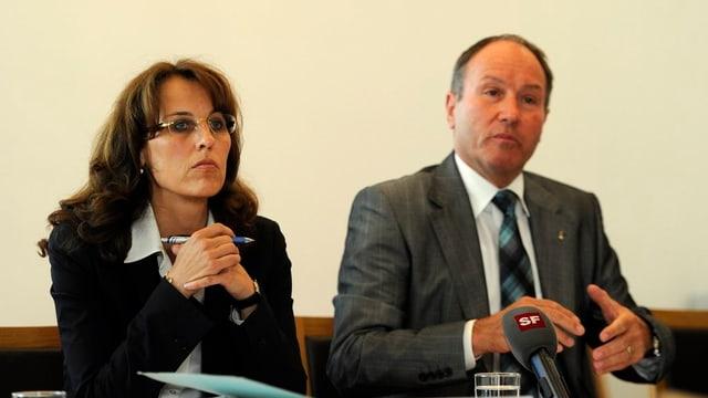 Esther Gasser Pfulg und Niklaus Bleiker