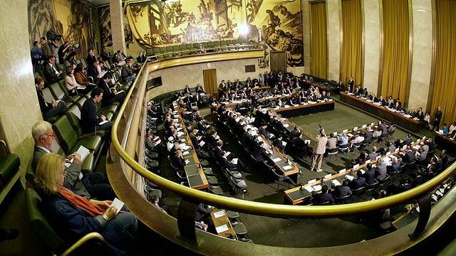 Sala da conferenza da la ONU.