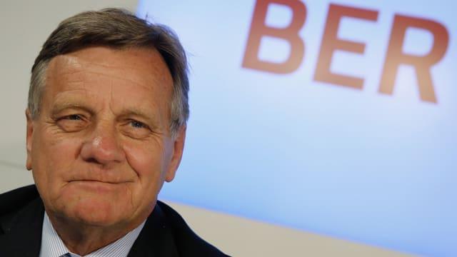 Der neue Chef des Hauptstadtflughafens, Hartmut Mehdorn