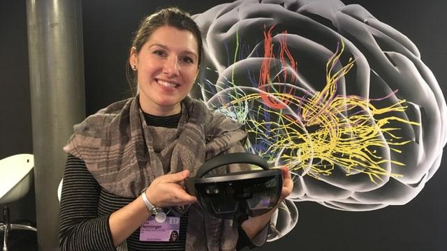 La scientista da Ohio Erin Henninger è persvadida, ch'ins po utilisar holograms en il futur en differents secturs dal mintgadi.