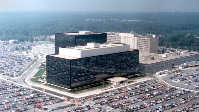 Die NSA-Zentrale in Fort Meade beschäftigt hunderte Mitarbeiter.