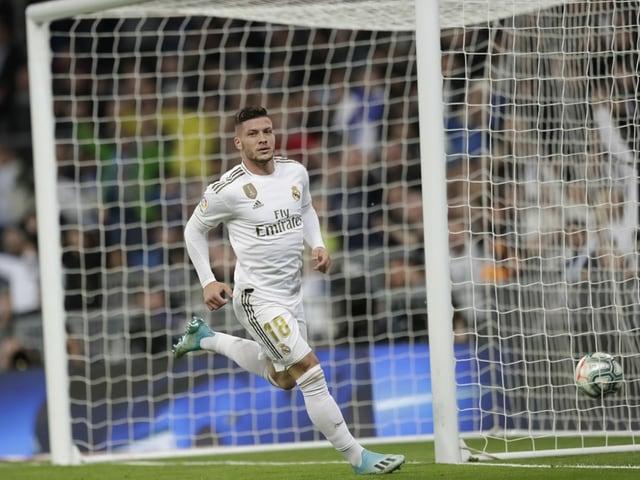 Luka Jovic von Real Madrid.