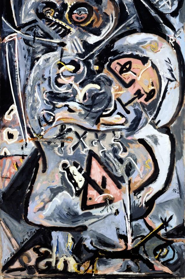 Jackson Pollow: «Totem Lesson 1».