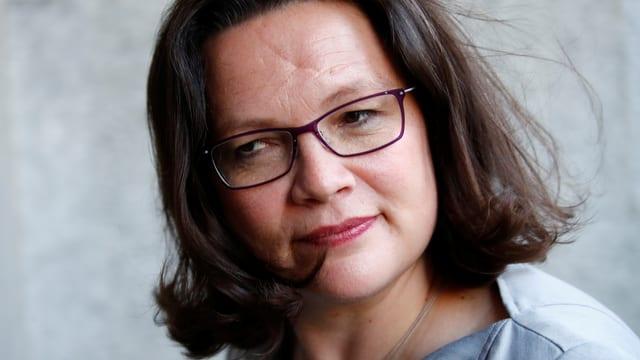 SPD-Chefin Andrea Nahles.