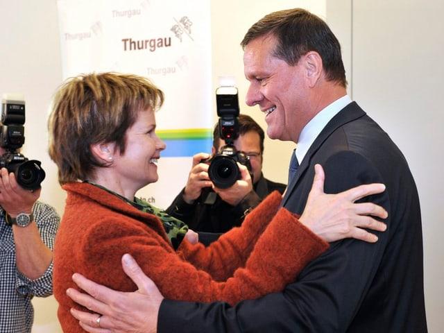 Brigitte Häberli und Roland Eberle