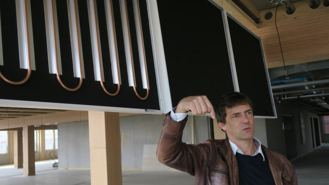 Patrick Suter und die Gebäudetechnik