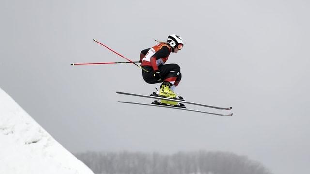 Freestyera da skis.