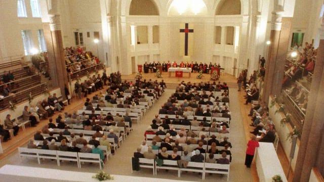 Kirchenraum von innen