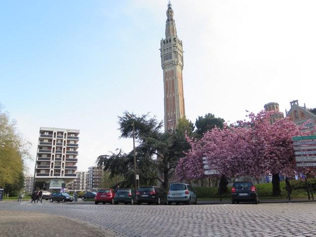 Der «Beffroi», ein Glockenturm, in Lille.