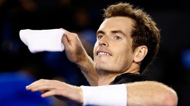 Andy Murray zieht in «Down Under» in die Viertelfinals ein.