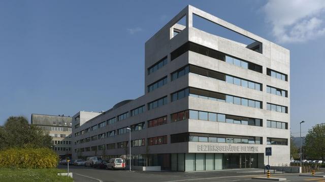 Ansicht des Bezirksgebäudes Dietikon
