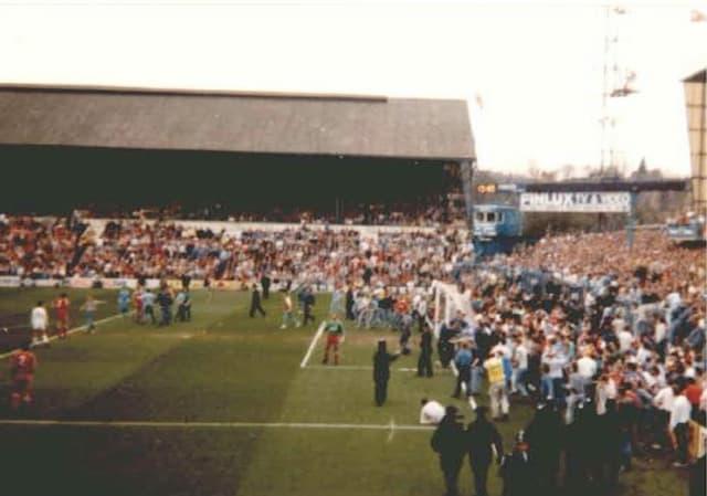 Tödliches Gedränge im Hillsborough-Stadion