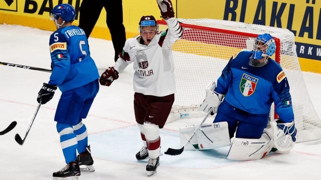 Lettland schlägt Italien – Dänemark überfährt die Briten