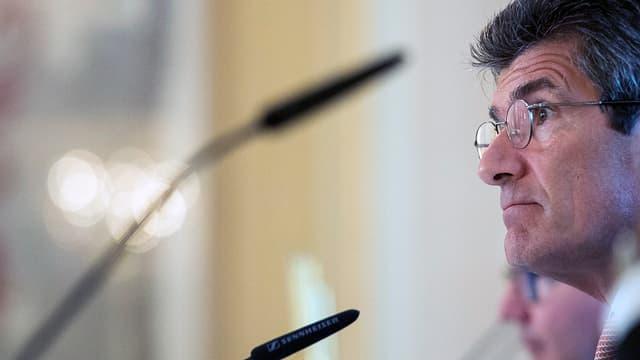 Patrick Odier, Präsident der Schweizerischen Bankiersvereinigung.