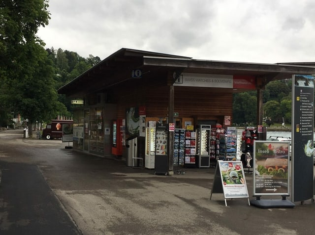 Souvenirstand am Rheinfall