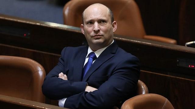 Der designierte Regierungschef Naftali Bennett.