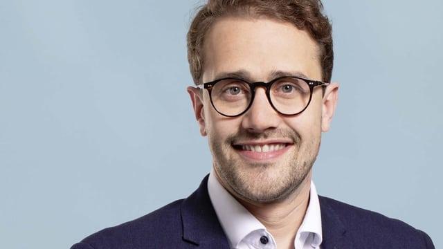 Porträt des Luzerner SP-Politikers David Roth.