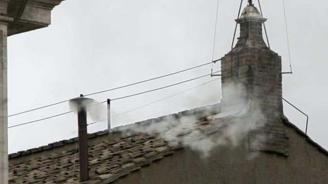 Vatikan weisser Rauch