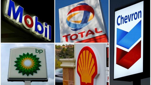 Die fünf grössten Ölhändler
