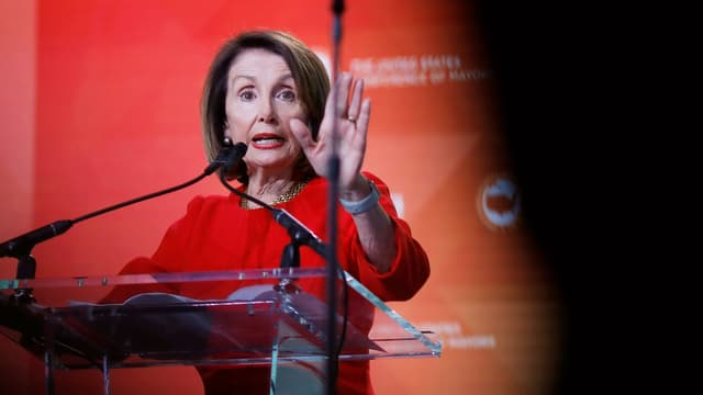 Nancy Pelosi, scheffa da la chombra