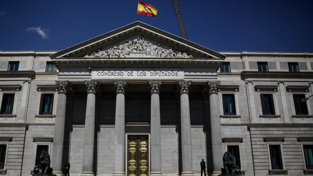 Parlamentsgebäude in Madrid