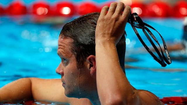 Dominik Meichtry verpasste auch den Final über 100 m Delfin.