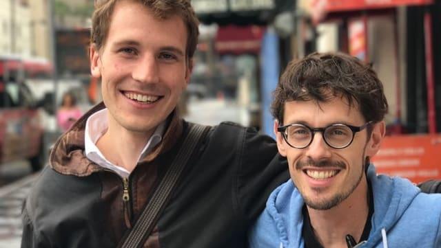 Timo von Gunten und Giacun Caduff