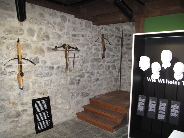 Armbrüste im Tell-Museum