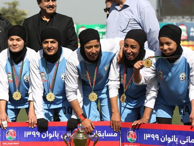 Spielerinnen von Herat im Jahr 2020