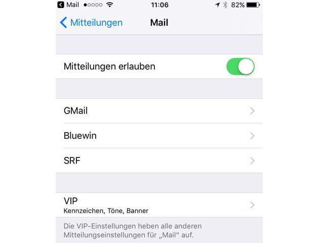 Screenshot iPhone.
