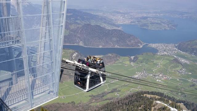 Bergbahn aufs Stanserhorn