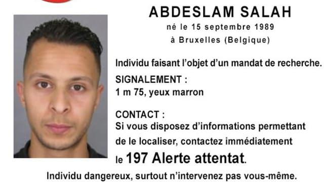 Il terrorist Salah Abdeslam.