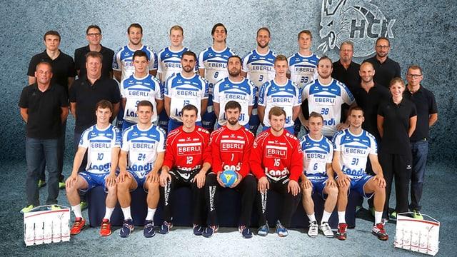 Team des HC Kriens-Luzern.
