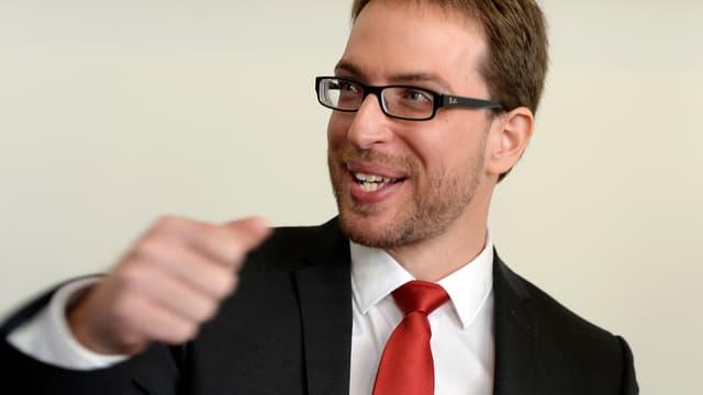 Daniel Frei im Portrait