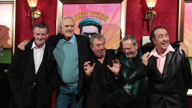 Monty Python 2009 bei einer Dok-Film-Premiere