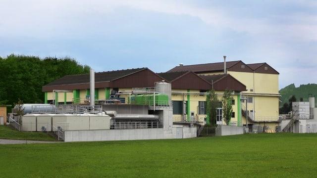 Anlage des Biogas-Produzentin Biorender