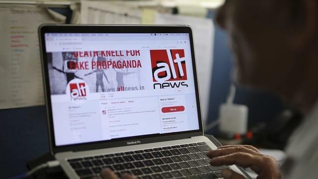 Fake News ist im indischen Wahlkampf ein neues Phänomen.