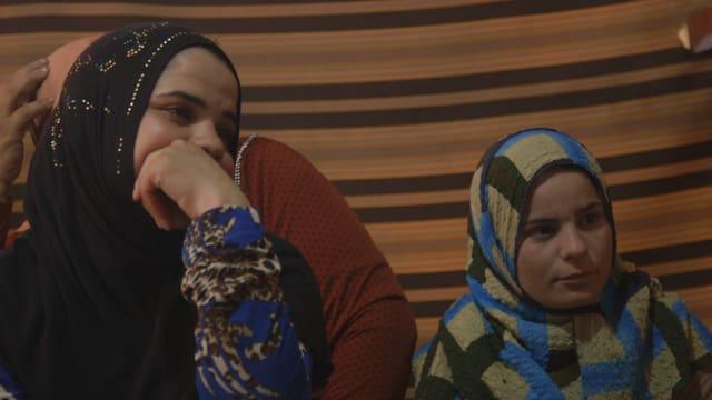 Syrische Flüchtlingsmädchen