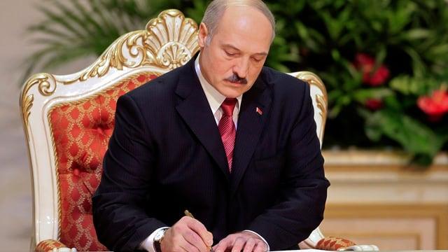 Der weissrussische Präsident Alexander Lukaschenko.