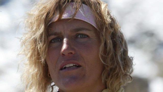 Evelyne Binsack bricht Expedition ab