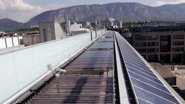 Solar-Anlage in Genf.