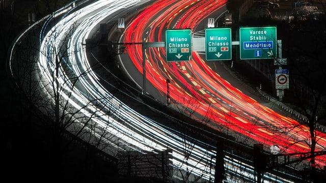 autostrada. maletg simbolic